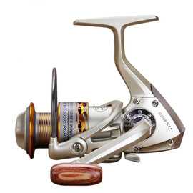 Fishing coil Wooden handshake 12+ 1BB Spinning Fishing Reel Professional Metal