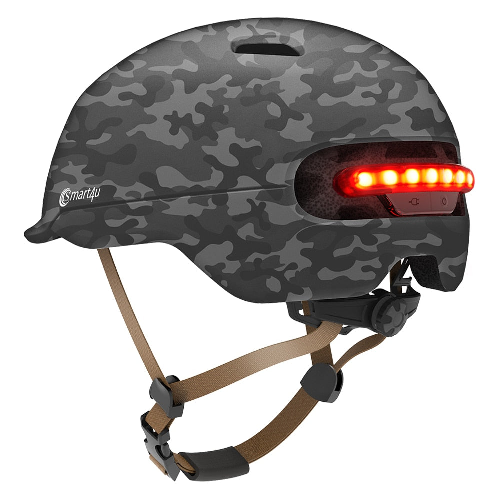 SMART4U Outdoor Cycling MTB Smart Helmet electric Bike Lamp Racing Bicycle Back Light