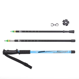 2pcs/lot Nordic Walking Poles Adjustable Trekking Poles Telescopic Scandinavian Walking Sticks Anti Shock Hiking Stick
