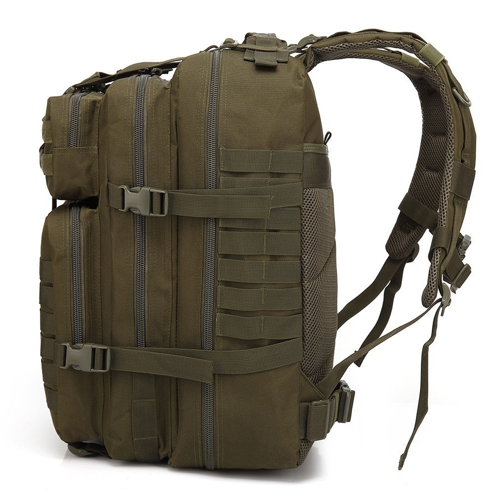 50L Large Capacity Man Army Tactical Backpacks Military Assault Bags 900D Waterproof Outdoor Sport