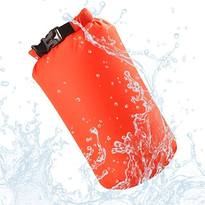 8L Nylon Portable Waterproof Dry Bag Pouch for Boating Kayaking Fishing Rafting Swimming Camping