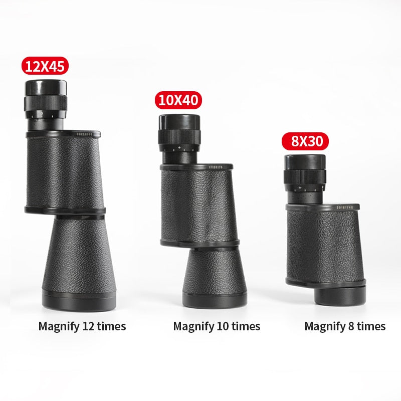 8X30 10X40 12X45 Monocular Telescope Powerful Military Scope Waterproof HD Hunting Optics Spyglass