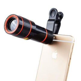Aokin Mobile Phone Lens Universal Clip 18X 20X Zoom Cellphone Telescope Lens