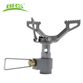 BRS Outdoor Gas Stove  Camping Gas Burner Portable Mini Titanium Stove Survival Furnace Pocket