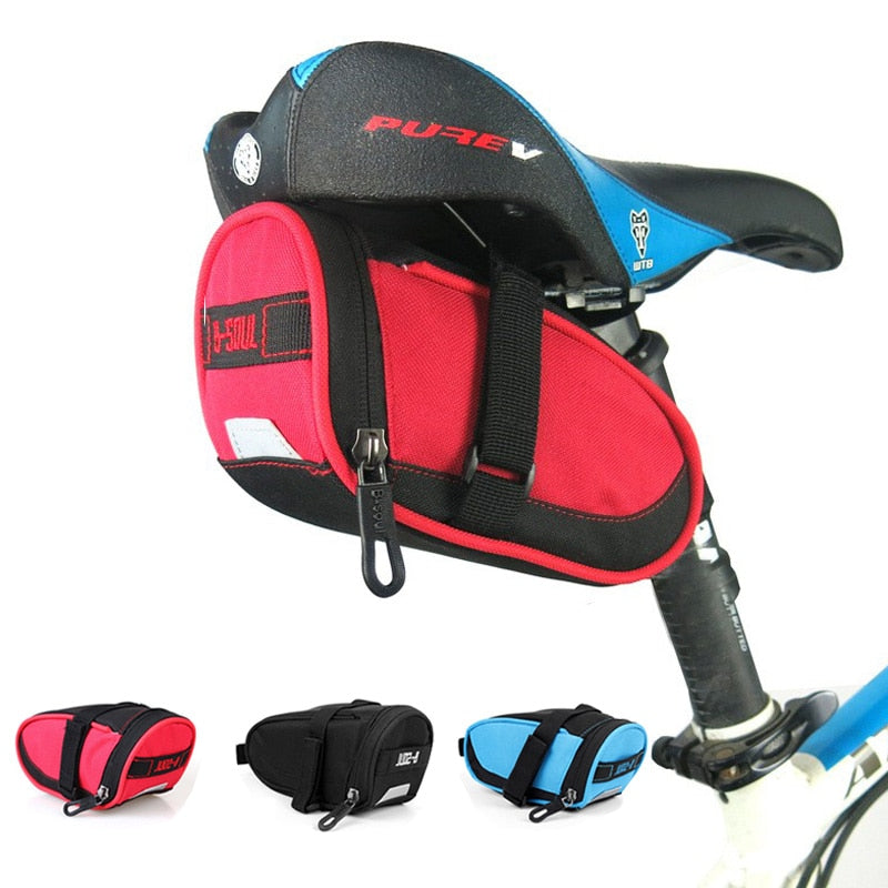 Bike Bags Waterproof Bicycle Saddle Bags Seat Cycling Tail Rear Pouch Bag Riding Storage Saddle Bag Accessories