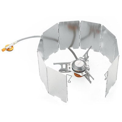 Camping Outdoor Gas Cooker Portable Stove Gas Heater With Piezo Ignition Equipment Camp Stove