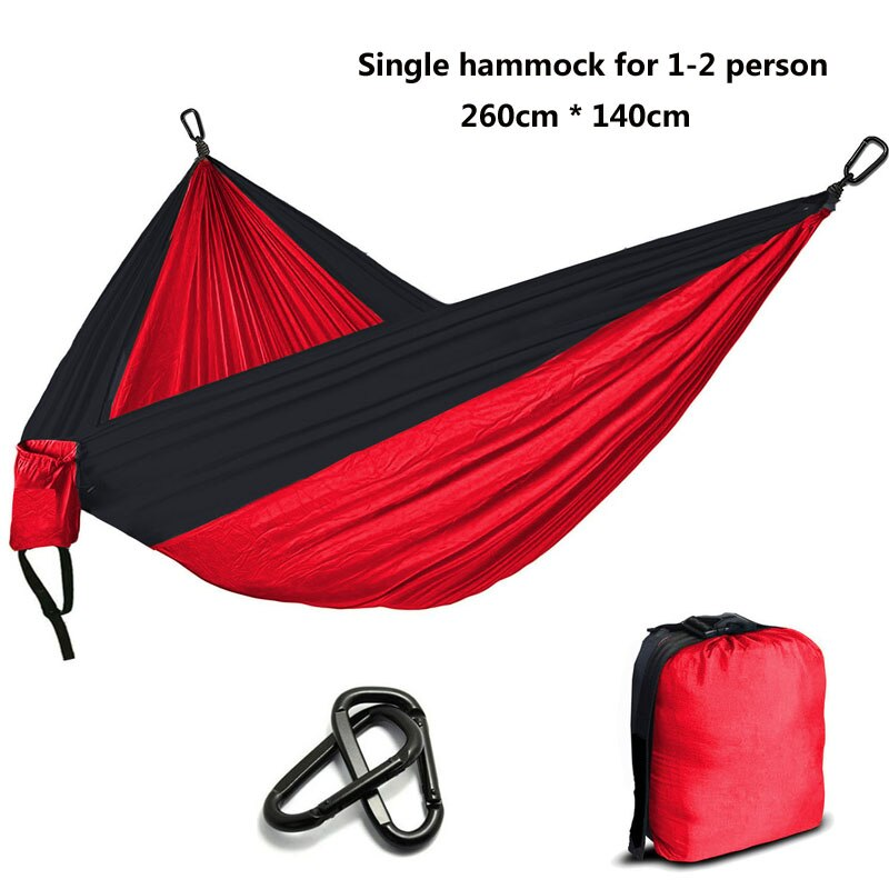 Camping Parachute Hammock Survival Garden Outdoor Furniture Leisure Sleeping Hamaca Travel Double