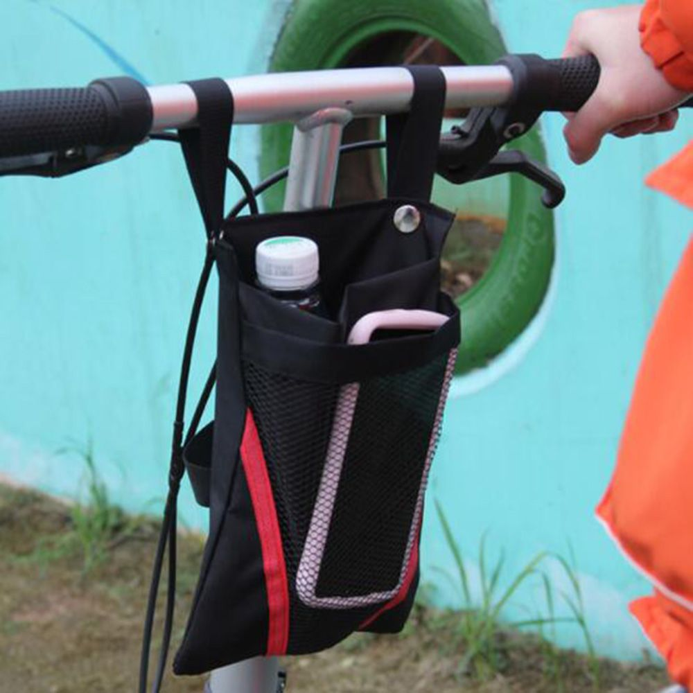 Cycling Waterproof Front Storage Bag Kids Bike Basket Mobile Phone Water Cup Storage Bags for Motorcycle Electric Vehicle Bags
