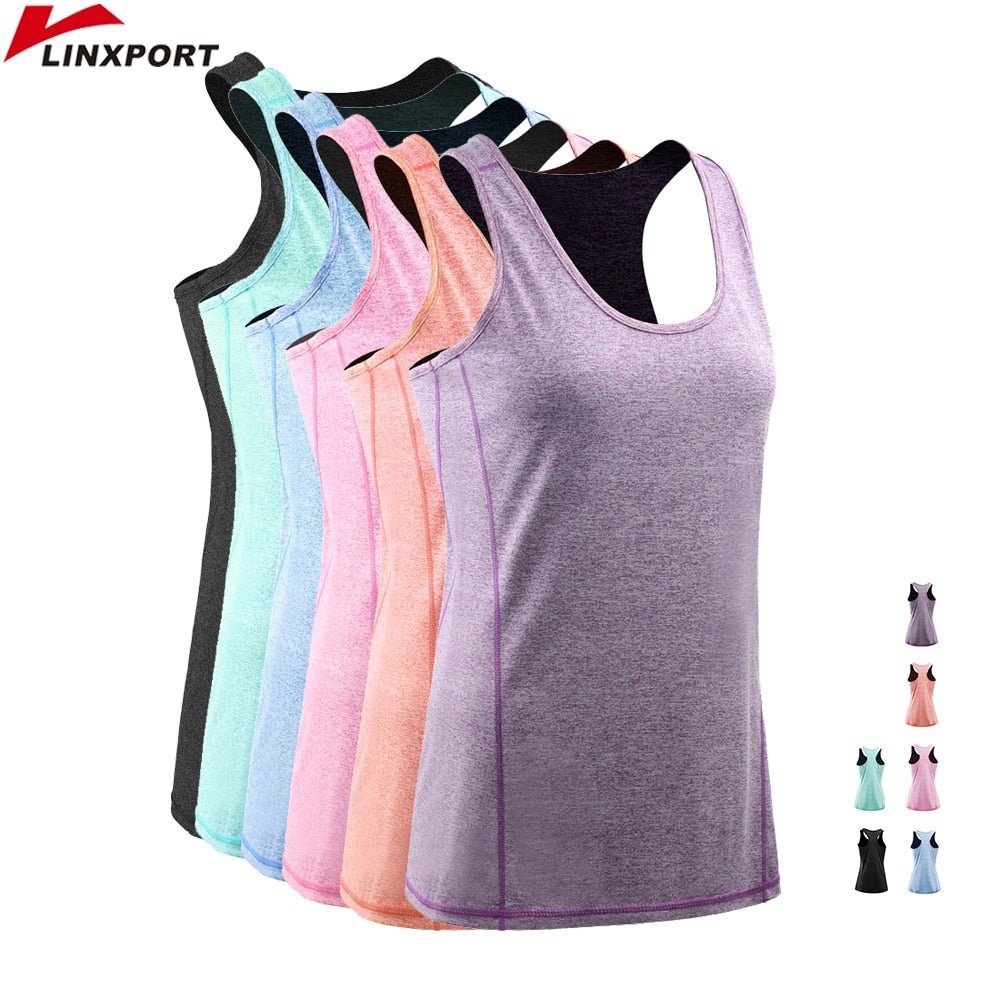 Female Sport Tops Sleeveless Yoga Shirt Exercise Workout Sports T-Shirts Women Running Singlets Sexy