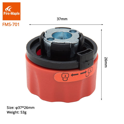 Fire Maple Camping Gas Adapter Outdoor Stove Head FMS-701 Plastic Butane Connector Gas Bottle