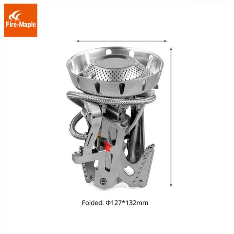 Fire Maple Camping Gas Burners Windproof 3600W Remote Gas Stove FMS-123 Outdoor Fire Stove