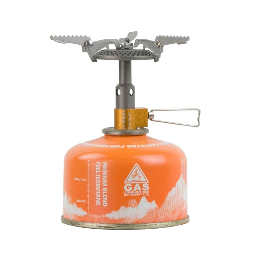 Fire Maple FMS-116T Outdoor Mini Camping Stoves Gas Burner For Backpacking 48g 2300W Portable