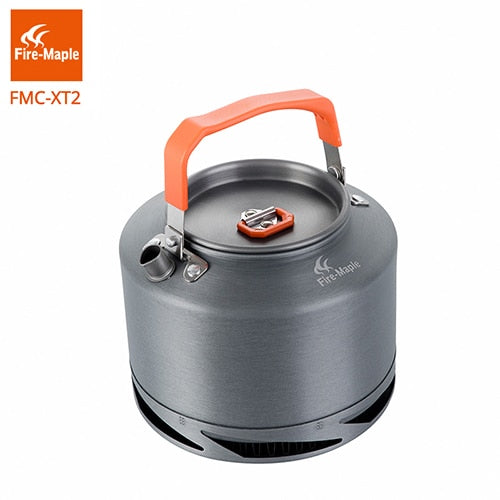 Fire Maple Hiking Kettle Outdoor Camping Cookware Heat Exchange Pinic Kettle Tea Coffee Pot 1.5L