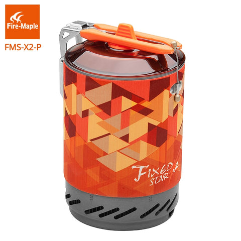 Fire Maple Repair Parts Aluminum Alloy Pot for Fixed Star X2 Orange 350g FMS-X2-P
