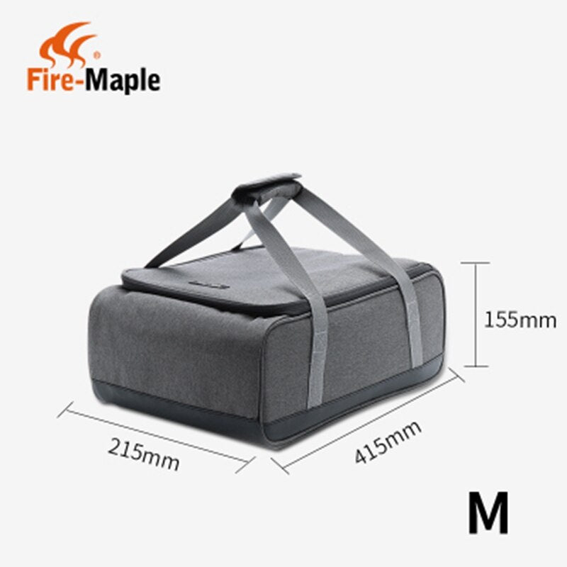 Fire Maple Stove storage bag picnic basket outdoor camping gas stove, gas canister, pot carry bag