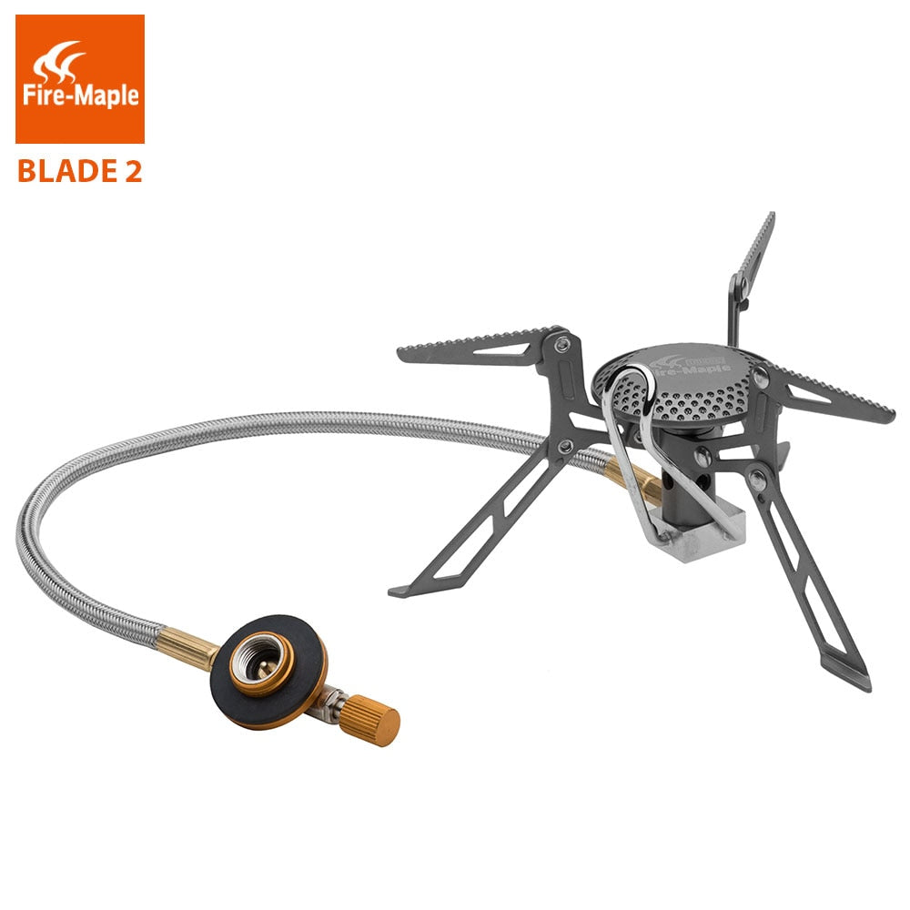 Fire Maple Titanium Gas burners Blade 2 Ultra Light 135g Gas Stoves Cooker With Pre-heat Tube