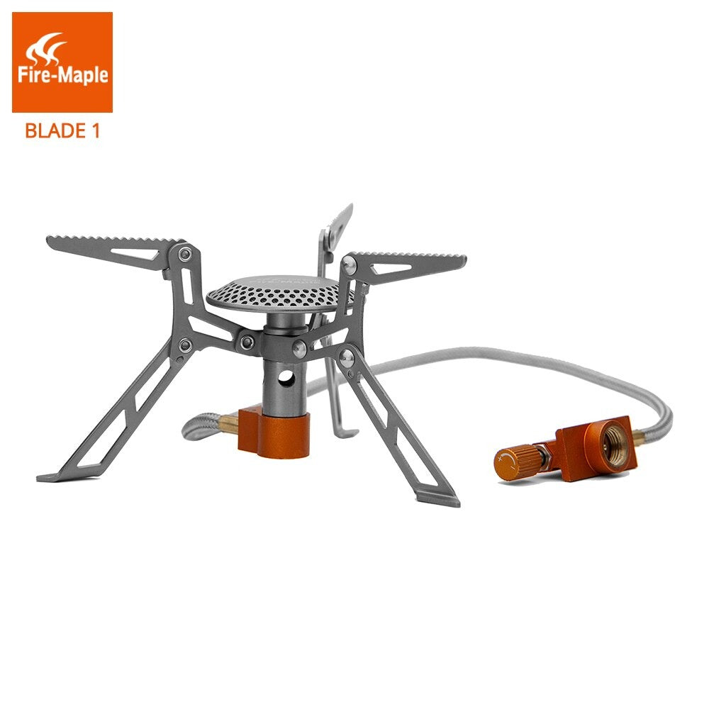 Fire Maple Titanium Stove FMS-117T Ultralight Outdoor Camping Hiking Stoves Lightweight Travel Gas