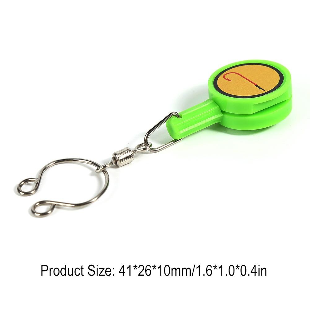 Fishhook Storage Box Quick Knot Tool Fast Tie Nail Knotter Cutter Fishing Tackle Portable Outdoor Rivers Lakes Supplies