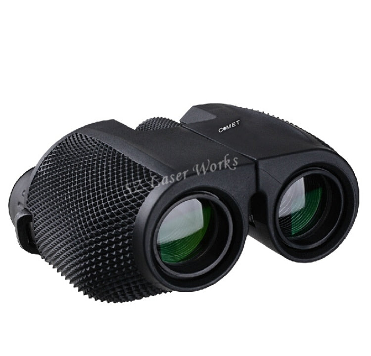 Free shipping high times 10X25 HD All-optical green film waterproof binoculars telescope for tourism