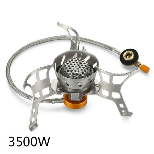 High Power Super Windproof Stove Mini Portable Split Type Outdoor Stove Cooker Picnic Gas Stove