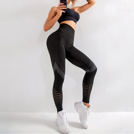 High Waist Fitness Gym Leggings Women Seamless Energy Tights Workout Running Activewear Yoga Pants