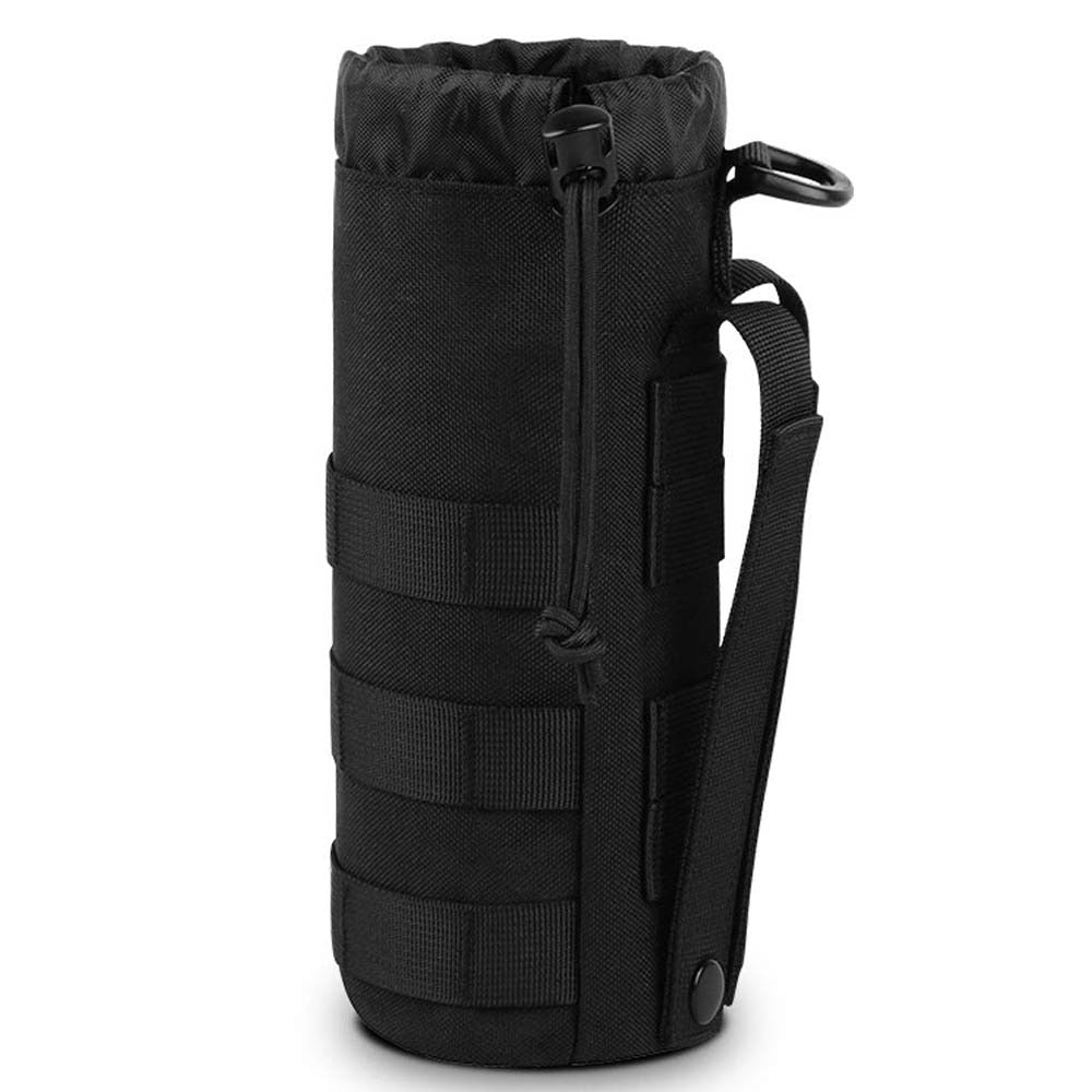 IKSNAIL Tactical Molle Water Bottle Bag Pouch Upgraded Travel Holder Sport Bag Outdoor Hydration For