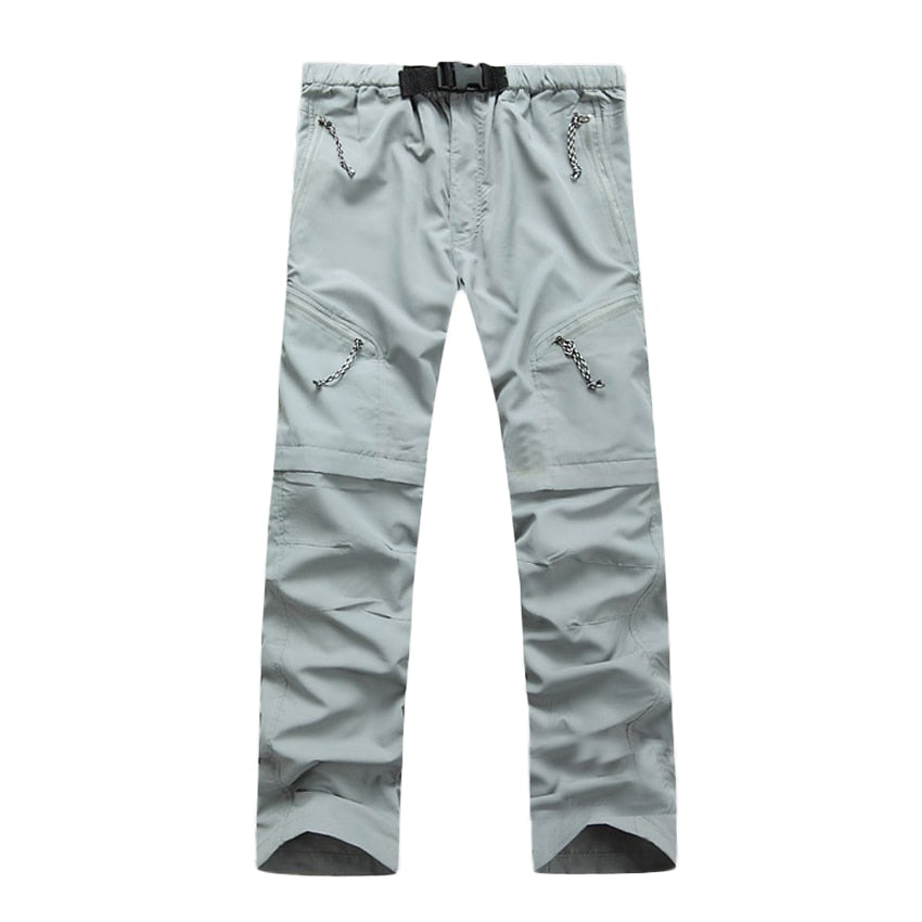 JACKSANQI Men's Quick Dry Detachable Hiking Pants Outdoor Sport Summer Camping Trekking Fishing