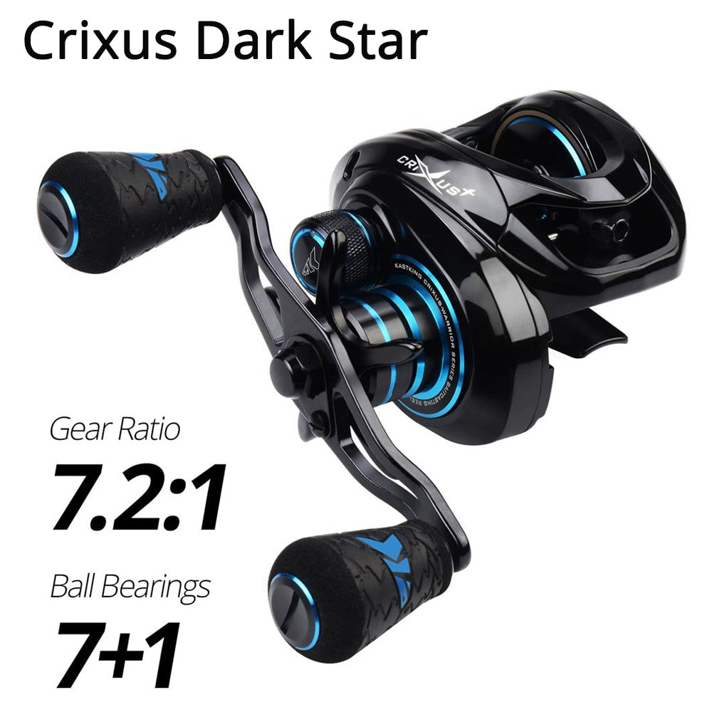 KastKing Crixus ArmorX Crixus Super Light Baitcasting Fishing Reel Magnetic Brake System 8KG Drag Casting Reel Fishing Coil