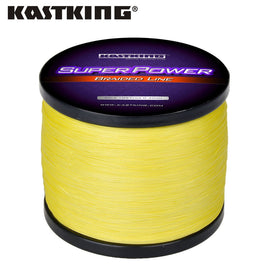 KastKing SuperPower Series 300m 500m 1000m 4 Strand 10-50LB Braided Fishing Line PE Multifilament