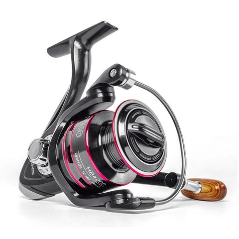 LINNHUE Fishing Reel All Metal Spool Spinning Reel 8KG Max Drag Stainless Steel Handle Line Spool
