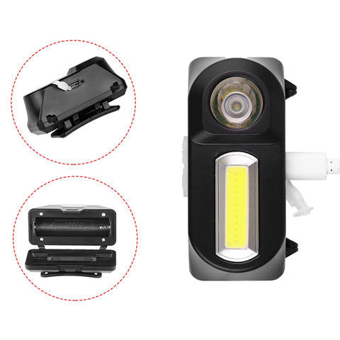 Litwod Z30 LED Headlamp Headlights Outdoor Camping Portable Mini XPE+COB Headlamp USB Charging