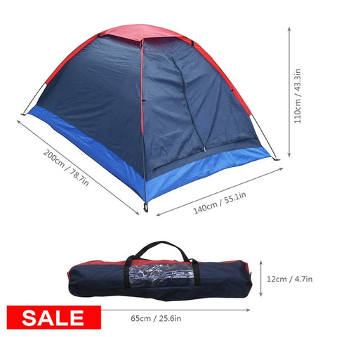 Lixada Camping Tent Travel For 2 Person Tent for Winter Fishing Tents Outdoor Camping Hiking with