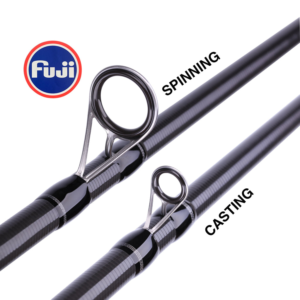 MIFINE MAXIMUS Lure Fishing Rod 1.8m 2.1m 2.4m 2.7m 3.0m30T Carbon spinning baitcasting FUJI Guide travel lure rod 3-50g ML/M/MH