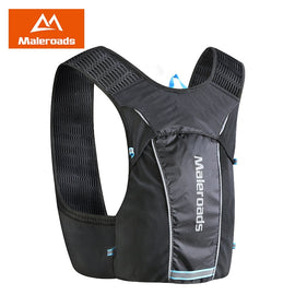 Maleroads Marathon Hydration Backpack 5L Outdoor Sport Trail Running Vest Bag Lightweight Backpack