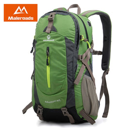 Maleroads Rucksack Hiking Backpack Travel Backpack Outdoor Sport Bag Waterproof Backpack Camp Pack