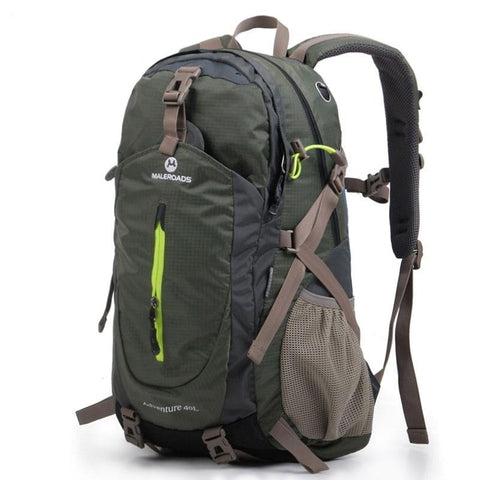 MALEROADS Rucksack Hiking Backpack Travel Backpack Outdoor Sport Bag Waterproof Backpack