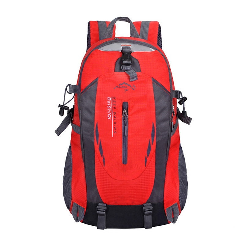 Men 40L Waterproof Travel Backpack Outdoor Rucksack