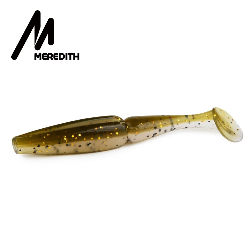 Meredith Crazy Shiner Fishing Lure 70mm 90mm 110mm 130mm Soft Baits Fishing Wobbler Bass Bait Artificial Fishing soft Lure Tacke