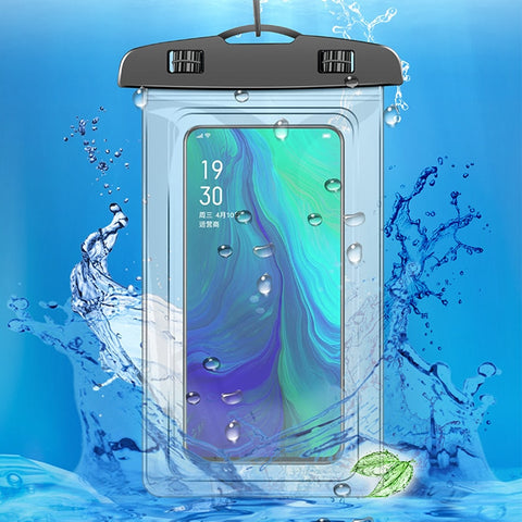 Mobile Phone Waterproof Bags With Straps Sealed PVC Protective Case Cover Underwater Pouch For