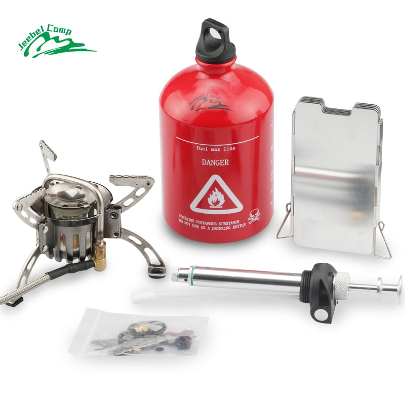 Multi Fuel Stove DAS-8A Preheating Oil/Gas Outdoor Camping Stove Cooker Picnic Cookout Hiking