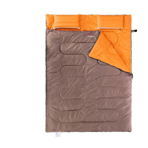 Envelope cotton double sleeping bag