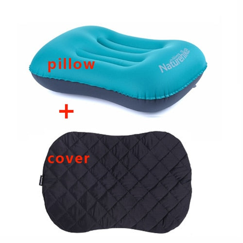 Naturehike Inflatable Outdoor Camping Pillow Ultralight Travel Pillows With Pocket Portable