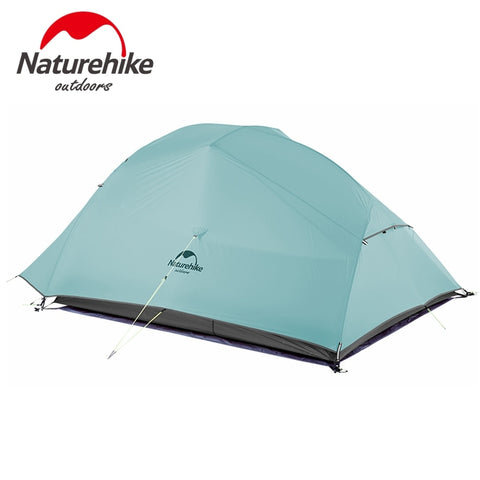 Naturehike New 2 Person Ultralight Cloud UP 2 Professional Camping Tent 20D Silicone Windproof