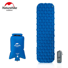Naturehike Single Person Nylon TPU Sleeping Pad Camping Mat Lightweight Moisture-proof Air