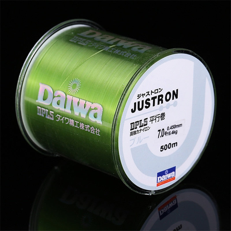 Nylon Fishing Line 500M Japanese Durable Fluorocarbon Sea Fishing Line 0.4-8.0 Super Strong