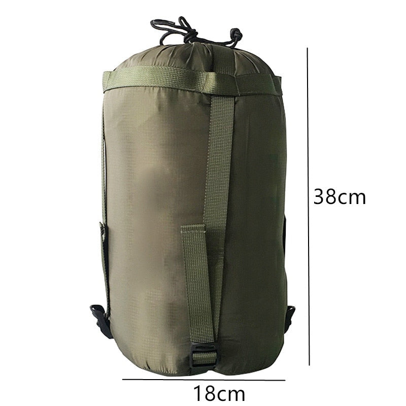 Outdoor Sleeping Bag Compression Sack Clothing Sundries Drawstring Storage Pouch Camping Equipment