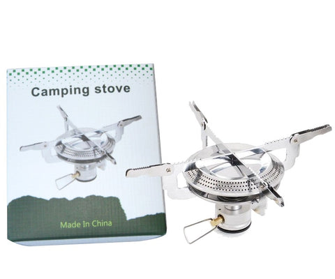 Poratable folding outdoor stove cookware gas burner camping stove for hiking picnic BBQ gas stove