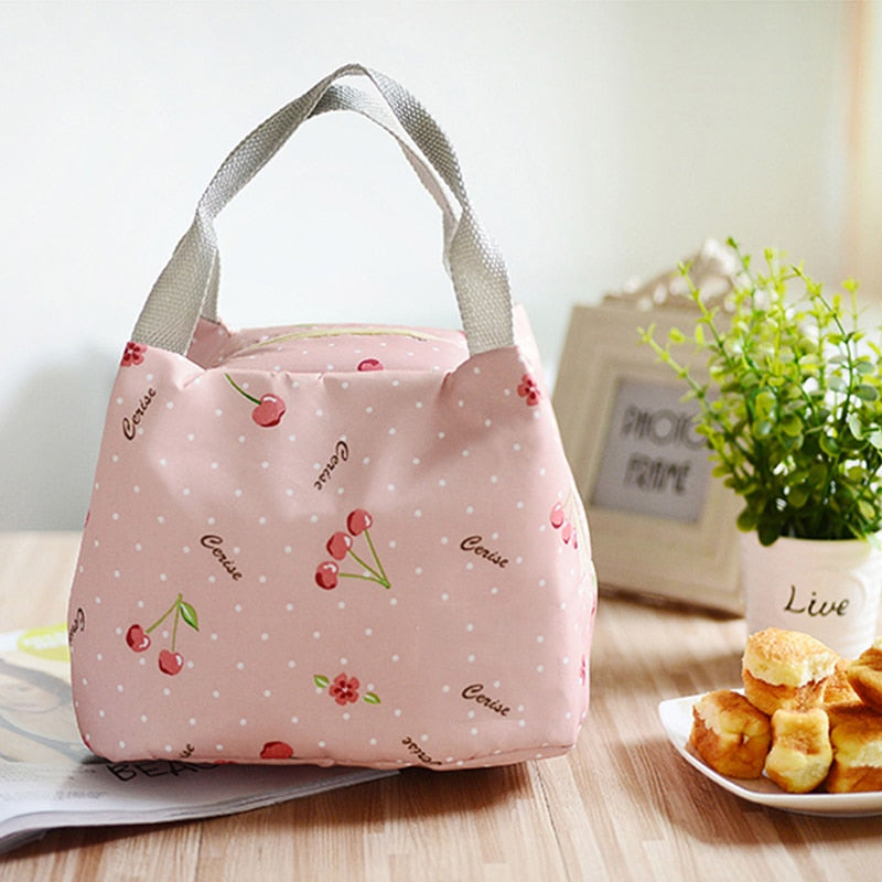 Portable Picnic Bag Lunch Cooler Outdoor Camping Bag Insulation For Women kids Men Thermal Food