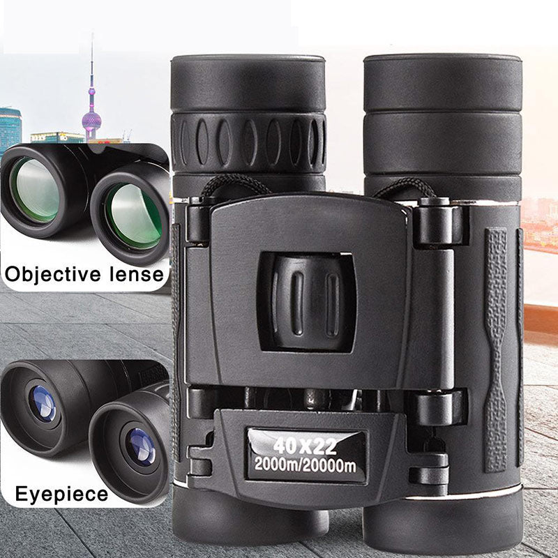 Professional Binoculars 60x42 Telescope Prism High Powered Binoculars Binocular Portable Hunting