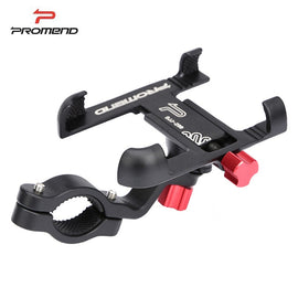 Promend Aluminum Alloy Bike Mobile Phone Holder Adjustable Bicycle Phone Holder Non-slip MTB Phone Stand Cycling Accessories